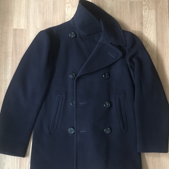 purchase newest hot products exquisite craftsmanship Original US Navy issue Coat. 100% wool.